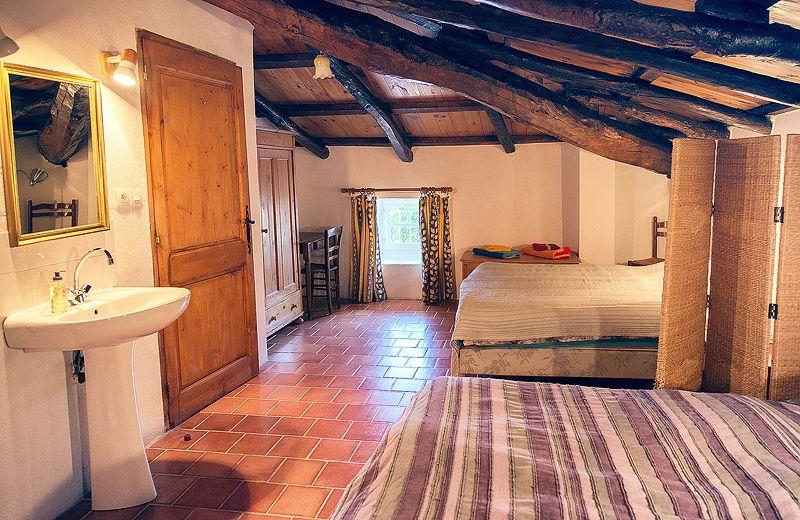 Location de charme, gite blajoux le mas bleu Ardèche