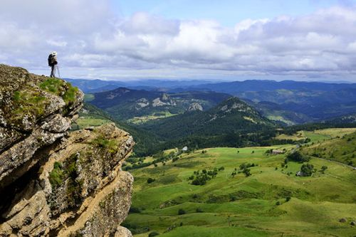 Der regionale Nationalpark der Mont d'Ardèche Südfrankreich