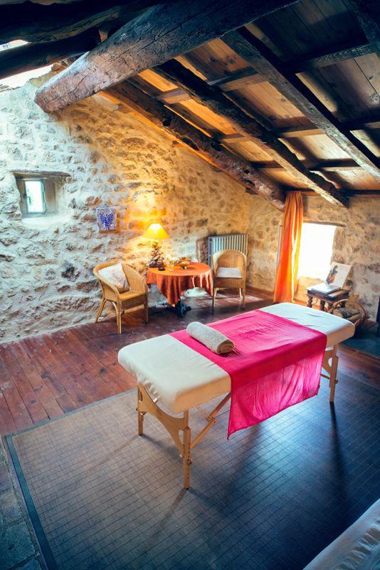 LeMas Bleu, spa et bien être en Ardèche